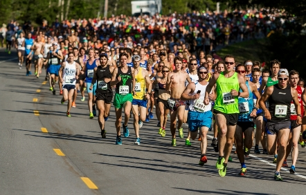 Online registration for 2016 TD Beach to Beacon 10K fills in record three minutes and 43 seconds.