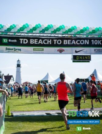 Online registration for 2016 TD Beach to Beacon 10K fills in record three minutes and 43 seconds..