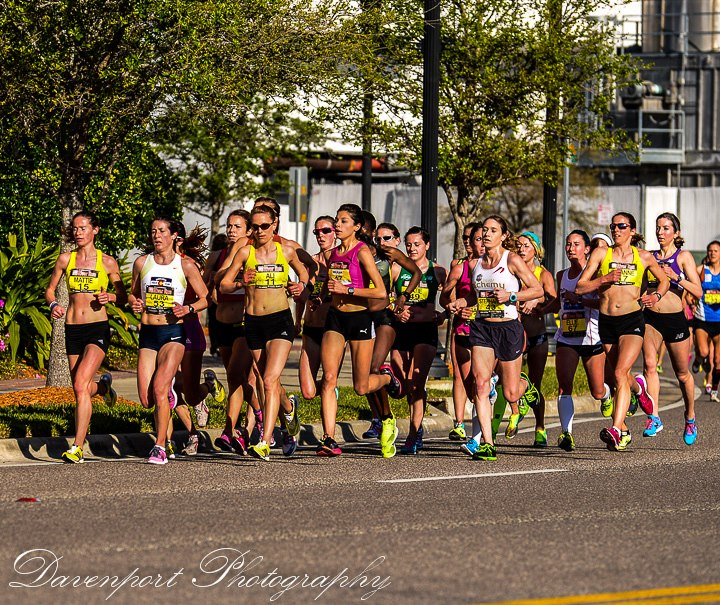 The lead women, with Katie and Heather in the mix (center). Courtesy of Davenport Photography