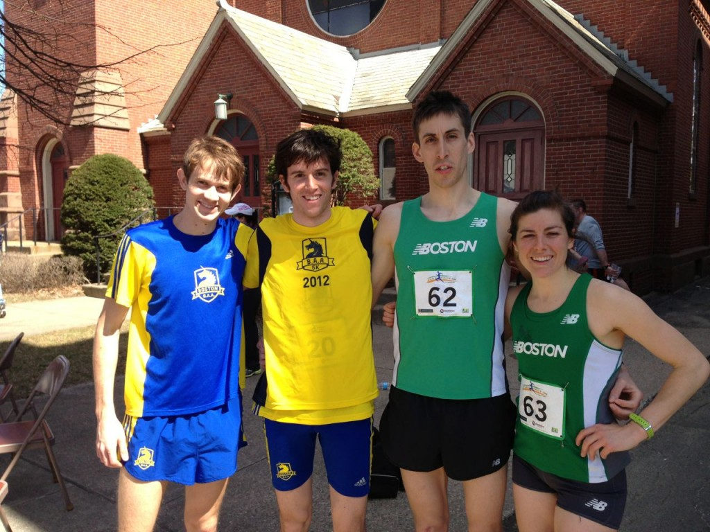 Harvey, Chorney, Rupprecht & Murphy, bask in the glow of a fast race.