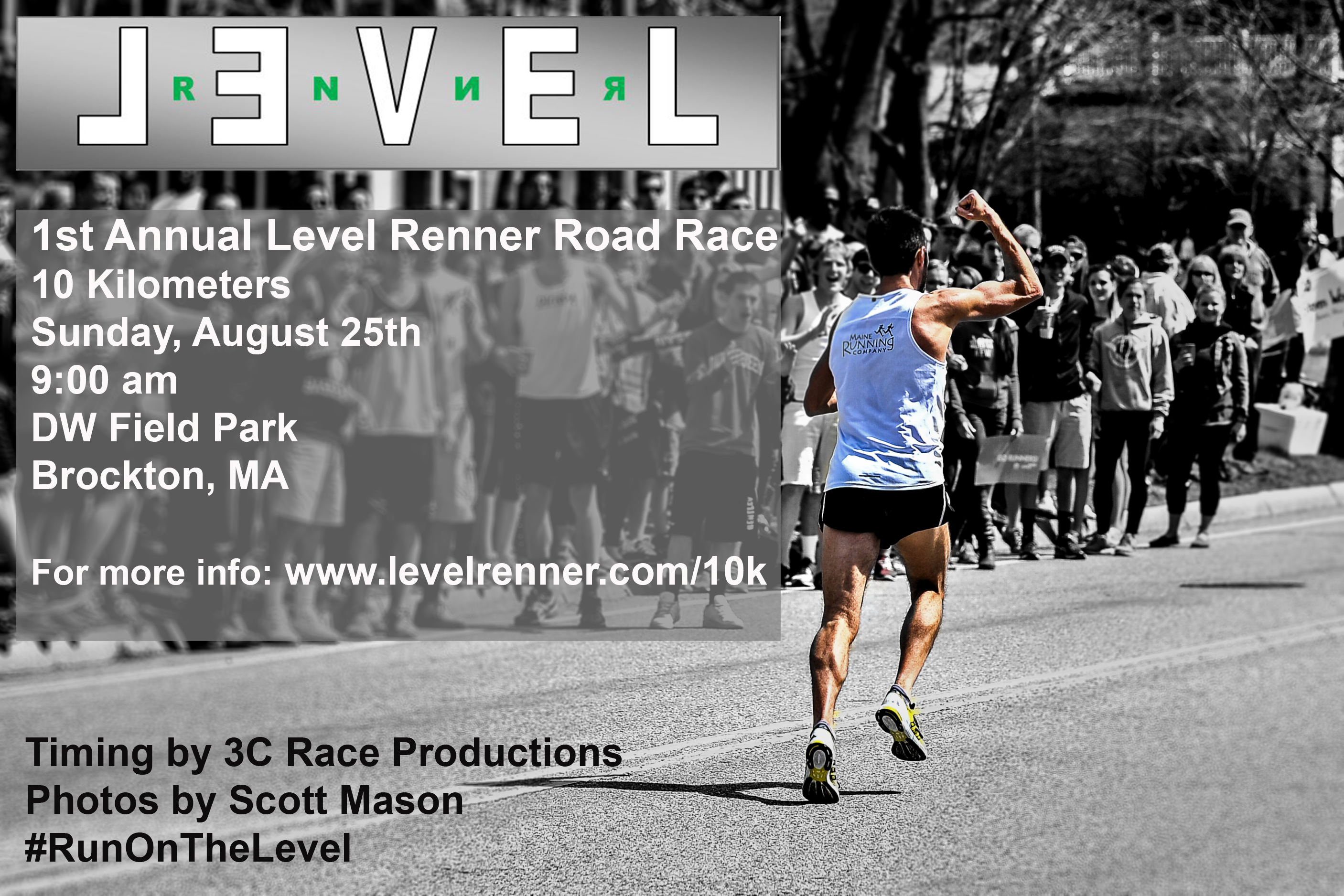 Level Renner Road Race Gomez Mason logo
