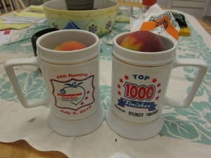 Top 1000 swag.  Photo courtesy of Mike McGrane & Amanda Watters.