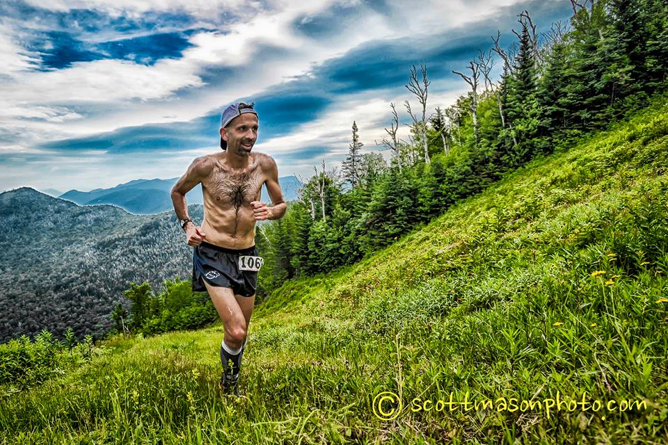The author takes on Loon Mt, earlier this summer. Courtesy of Scott Mason Photo.