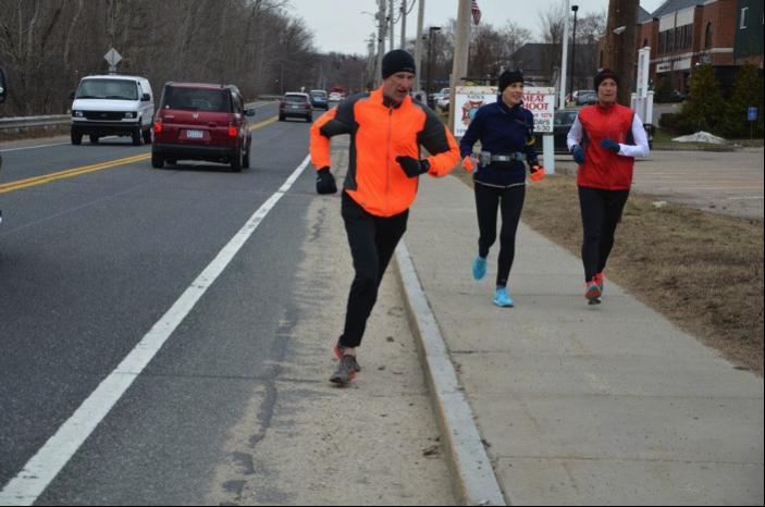 Graham GLRR Boston Marathon training