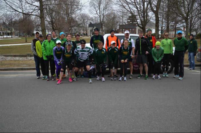 Graham GLRR Team Boston Training