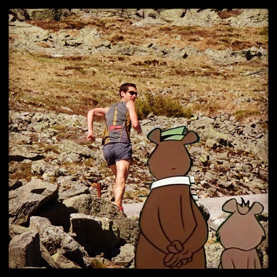 Blake Yogi bear Loon Mountain