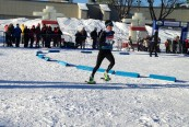 2015 World Snowshoe Championships Ayr Wilson finishing