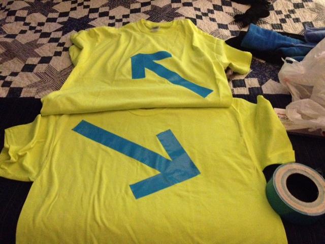 WMDP swap gift Ayr Manchester volinteer shirts