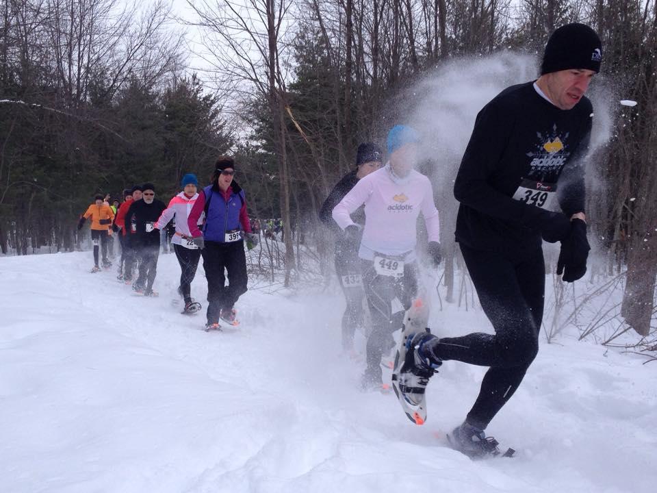 Horse Hill snowshoe 2.7.15 Santangelo Dunn