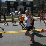 Boston Marathon 2014 Leja Treadwell