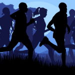 running silhouettes clip art blue black 3.3.15 bing