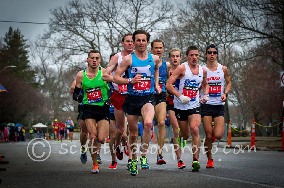 Photo of the 2015 Boston Marathon by Scott Mason.