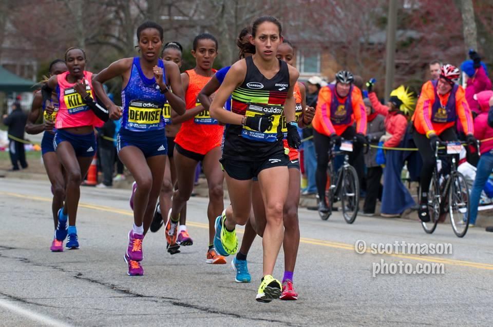 Photo of the 2015 Boston Marathon by Scott Mason.