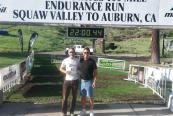 Montrail 6k Uphill Challenge 6.26.2015 Callaghan finish line bib
