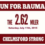Run For Bauman 7.11.2015 logo
