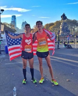 Philadephia Rock 'n' Roll Half Marathon 10.31.2015 Smith Serafini Ritchie