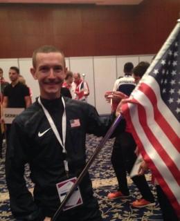 Tyler Andrews Team USA Qatar 50k