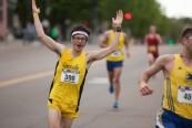 Vermont City Marathon 2015 White Larosa