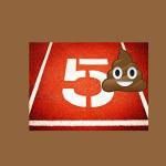 bathroom emergency poop 1.16.15 salty running