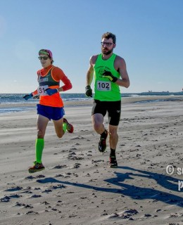 Resolution Beach 5k 2016.01.03 Mason Lonergan Jackman first mile