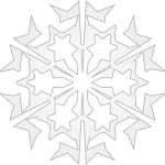 Snowflake-10--Arvin61r58-800px open clip art 1.30.16