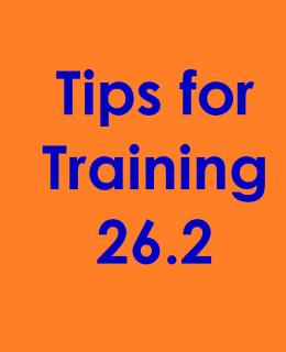 marathon training 26.2 780 2.6.16