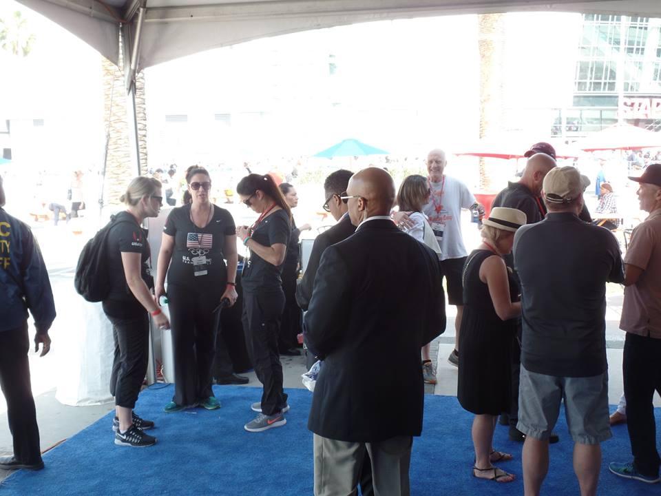 Photo of the plush VIP area courtesy of Chris George.