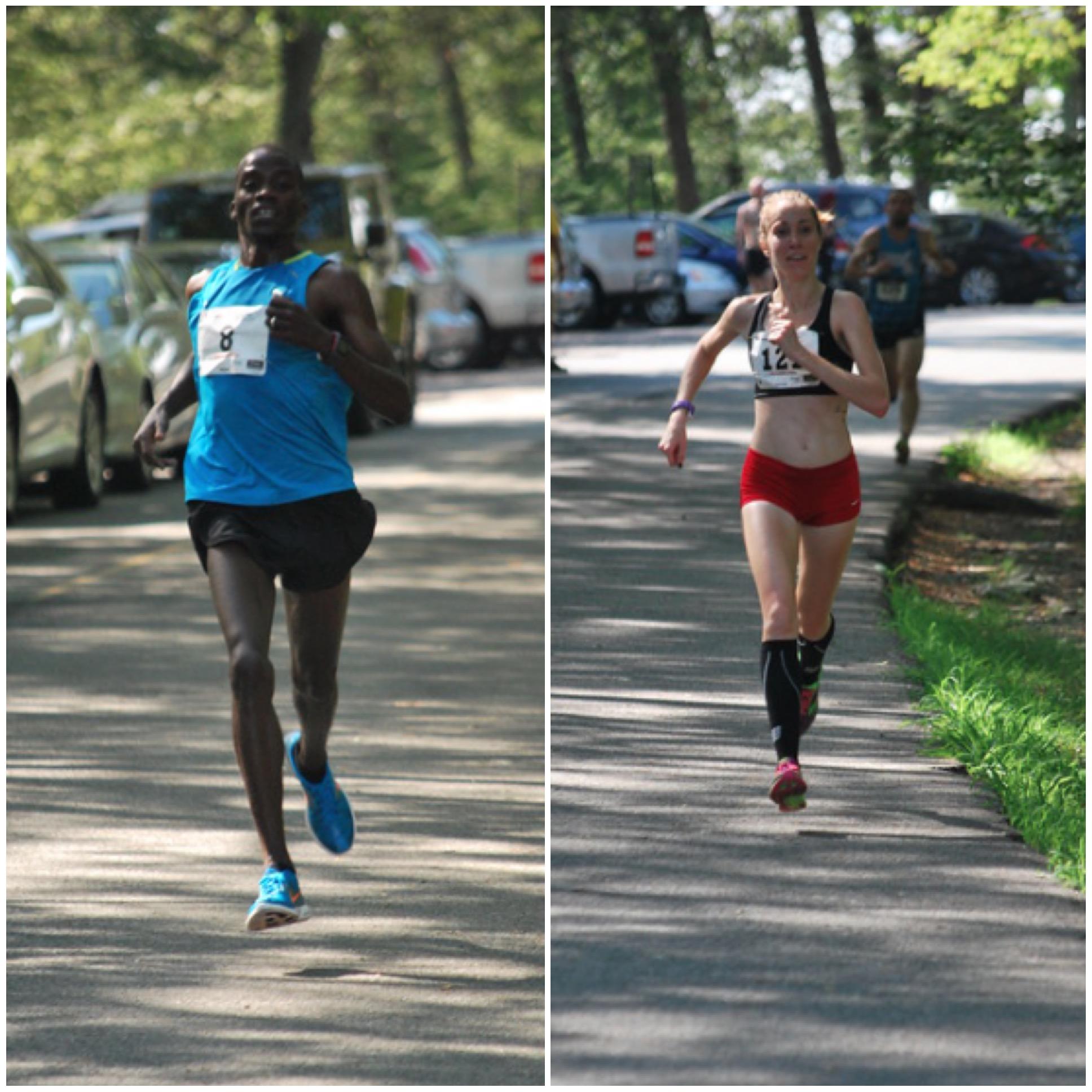 2015 race winners Glarius Rop and Rosa Moriello. Photos courtesy of Krissy Kozlosky.